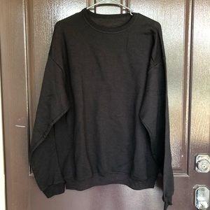 Black hanes sweater